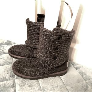 Gray and Silver Cardy Uggs